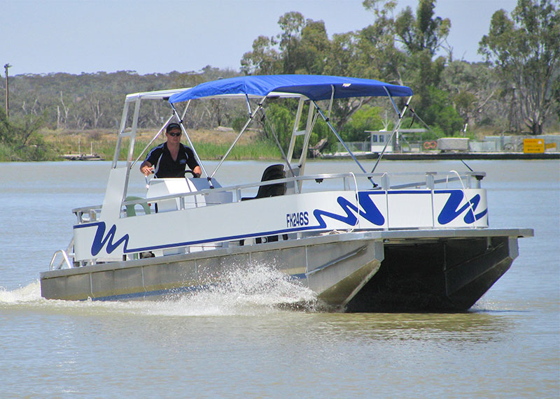 Pontoon Boat for hire