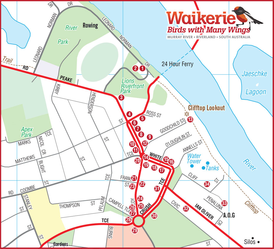 Waikerie to adelaide
